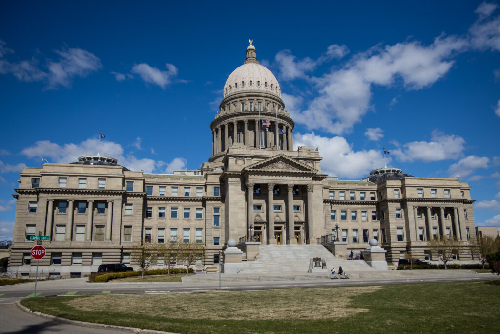 The Idaho Statehouse in Boise