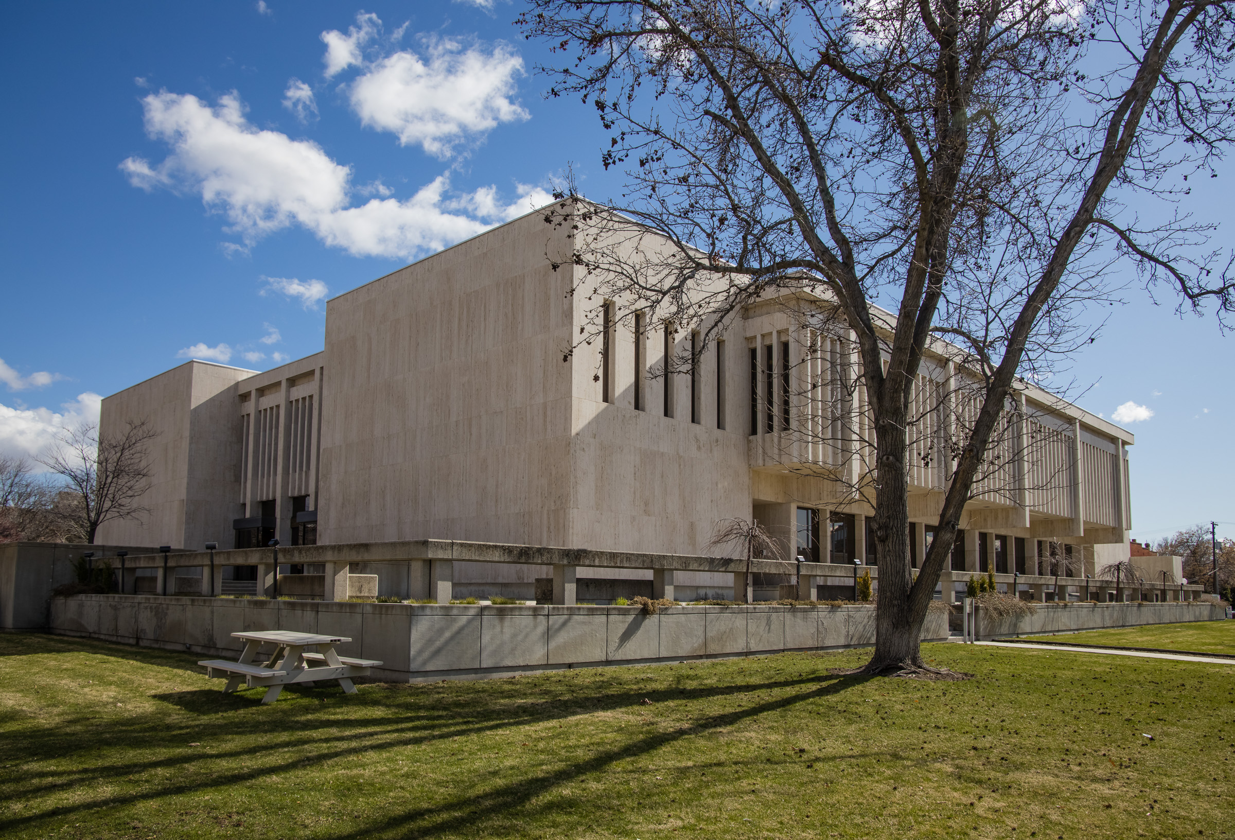 The Idaho Supreme Court building in Boise on March 23, 2021.