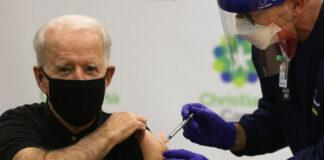 Joe Biden gets COVID-19 vaccination