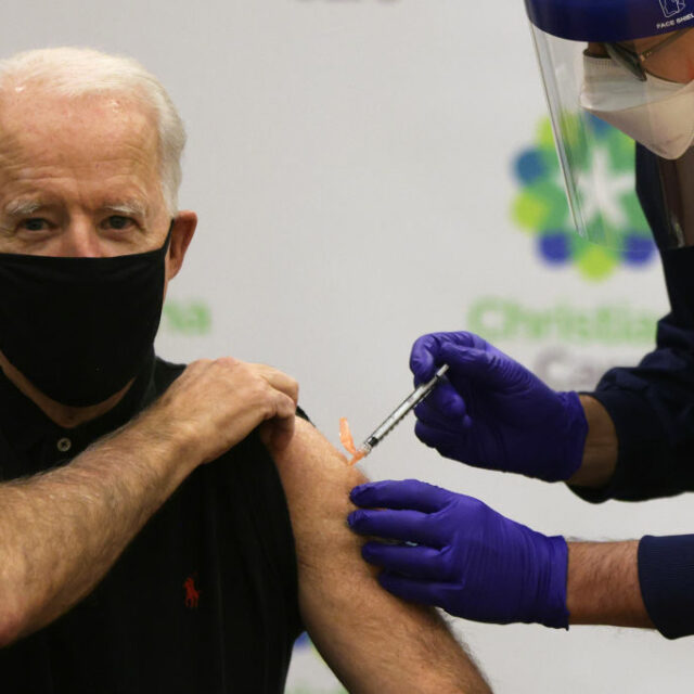 Biden calls for paid time off for vaccinations as U.S. hits 200 million goal