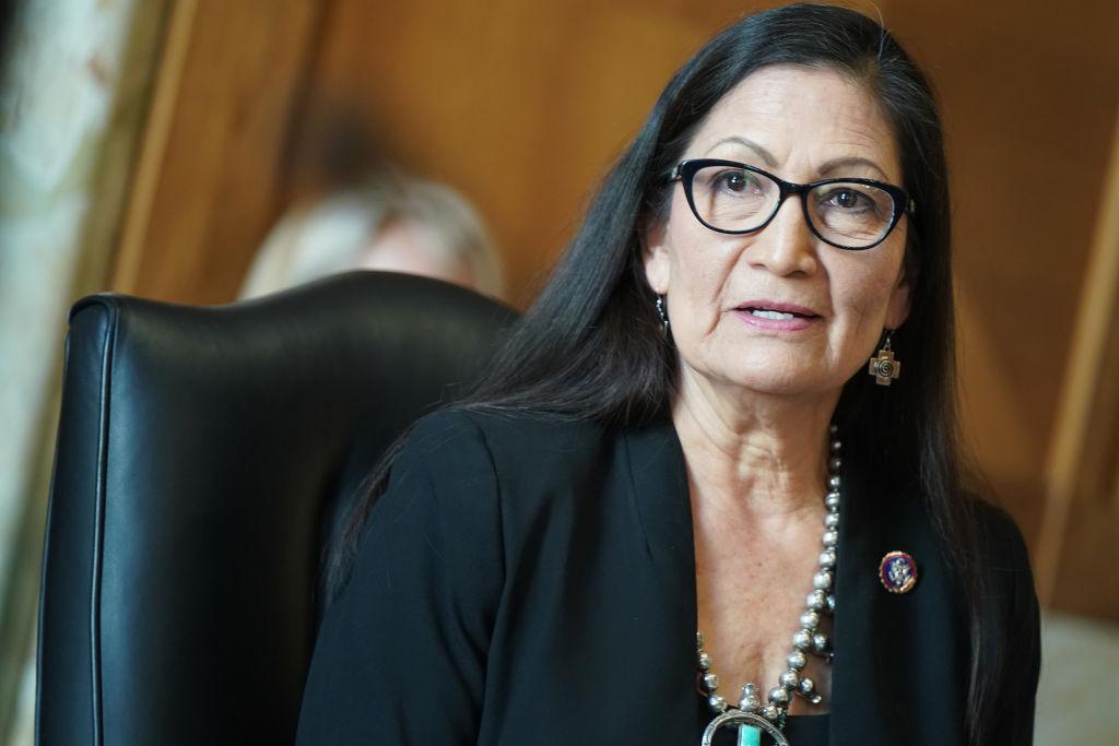 Interior Secretary Debra Haaland