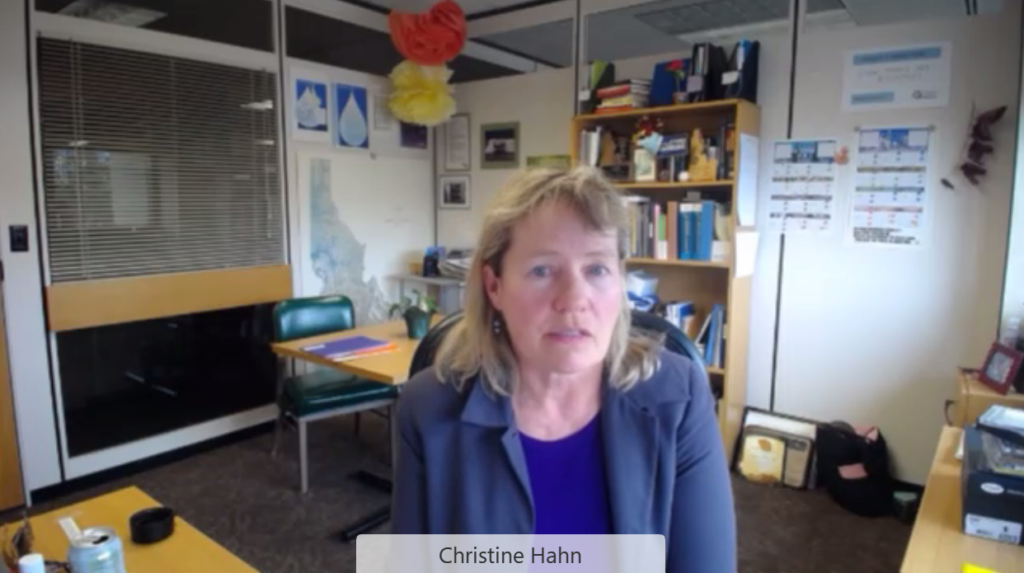 Idaho State Epidemiologist Dr. Christine Hahn talks about Idaho's COVID-19 vaccine rollout