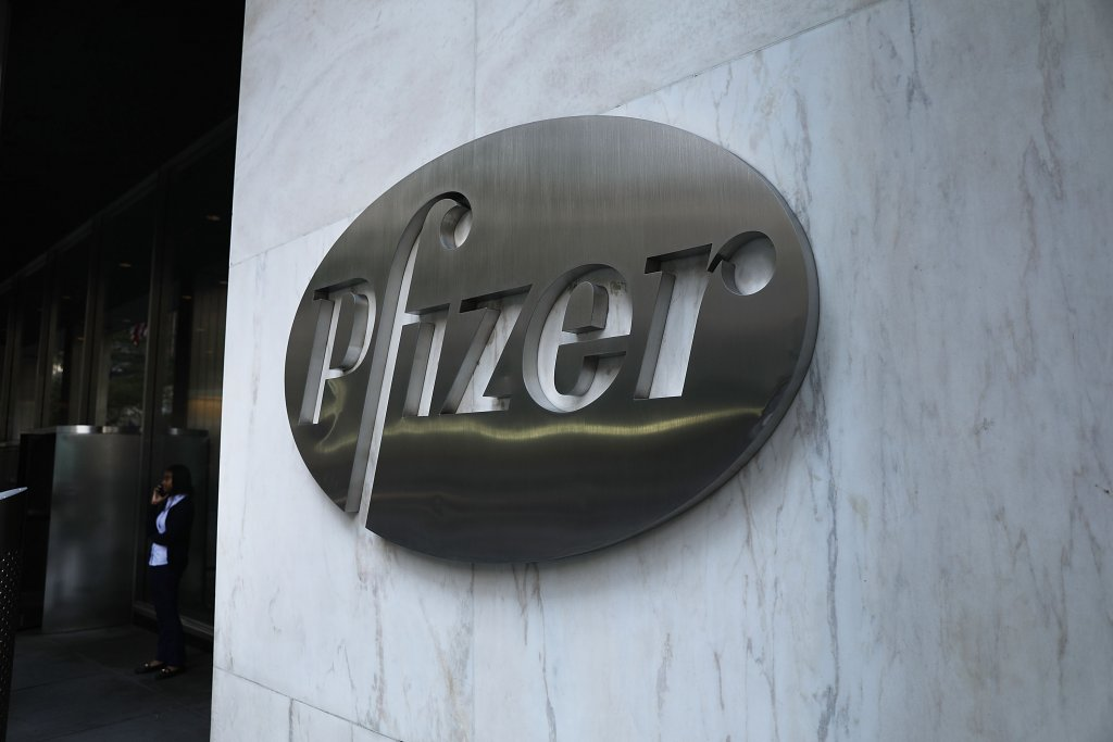 Pfizer headquarters in NYC