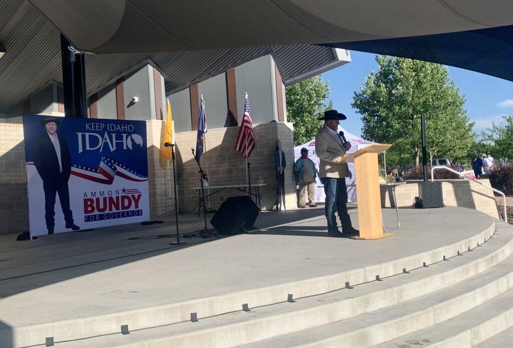 Ammon Bundy at Kleiner Park
