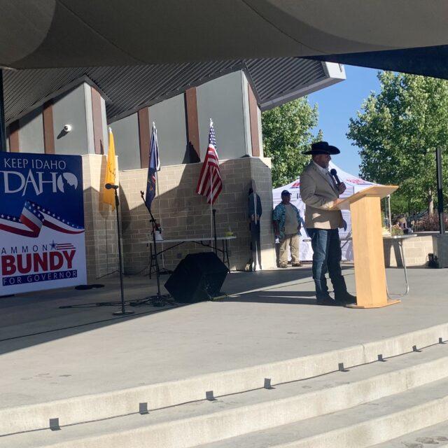 Ammon Bundy announces Republican run for Idaho governor