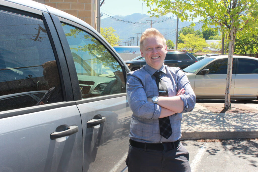Kiki Radermacher, a therapist, was one of the first members of a mobile crisis response unit in Missoula, Montana, which started responding to emergency mental health calls last year.