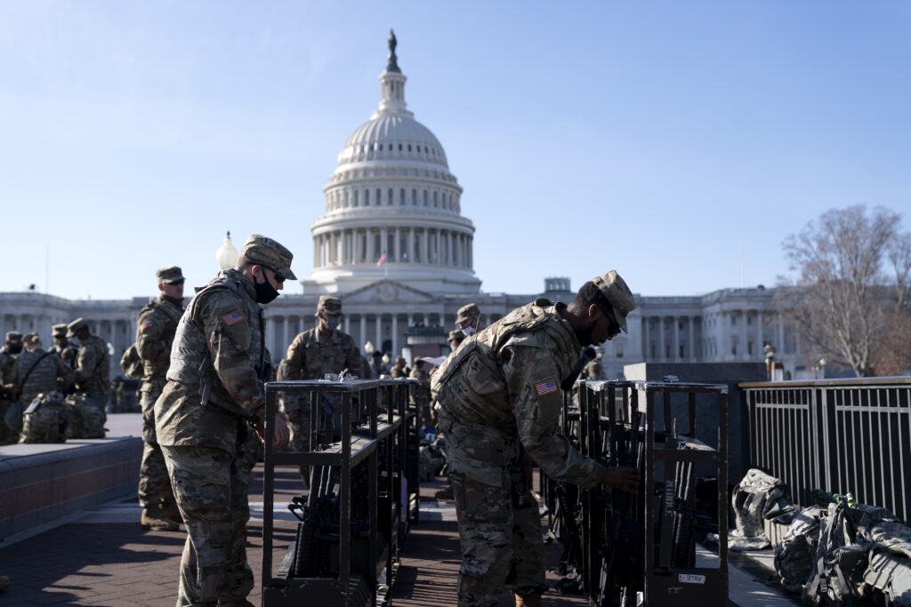 National Guard at the U.S. Capitol