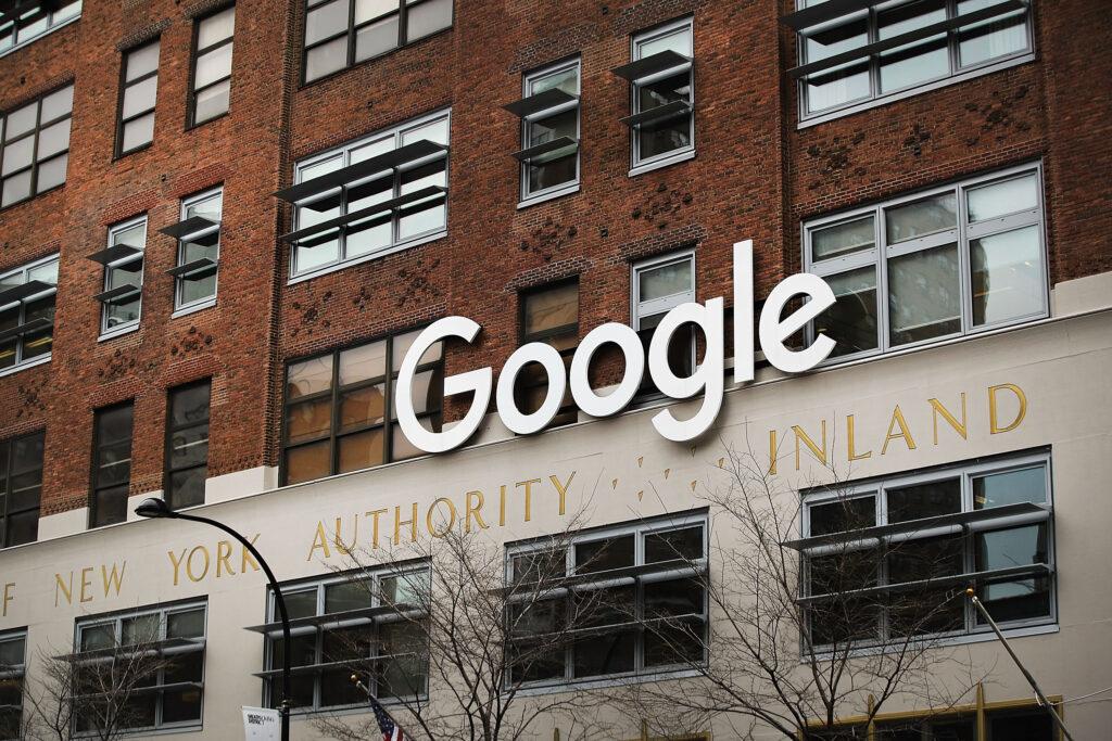 Google's New York office