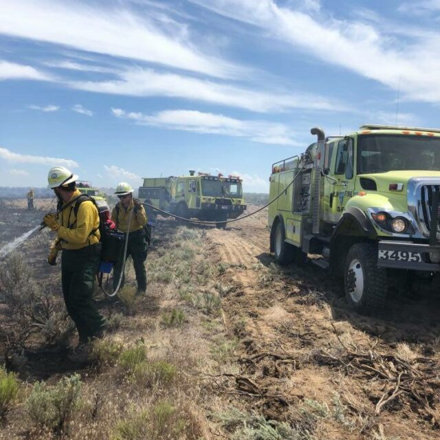 Fire officials warn of above average potential for large wildfires in Idaho through September