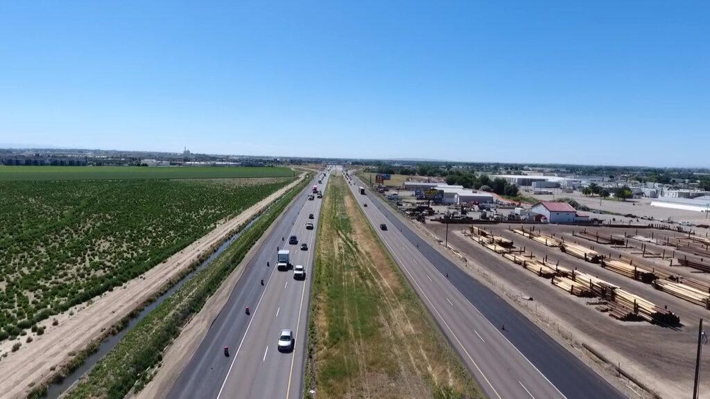 Interstate 84 in Nampa