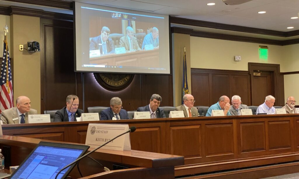 the Idaho Legislature's Property Taxes and Revenue Expenditures Study Committee
