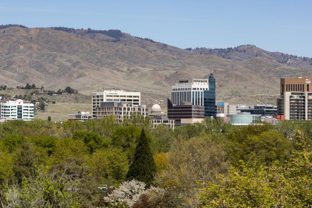 Downtown Boise skyline