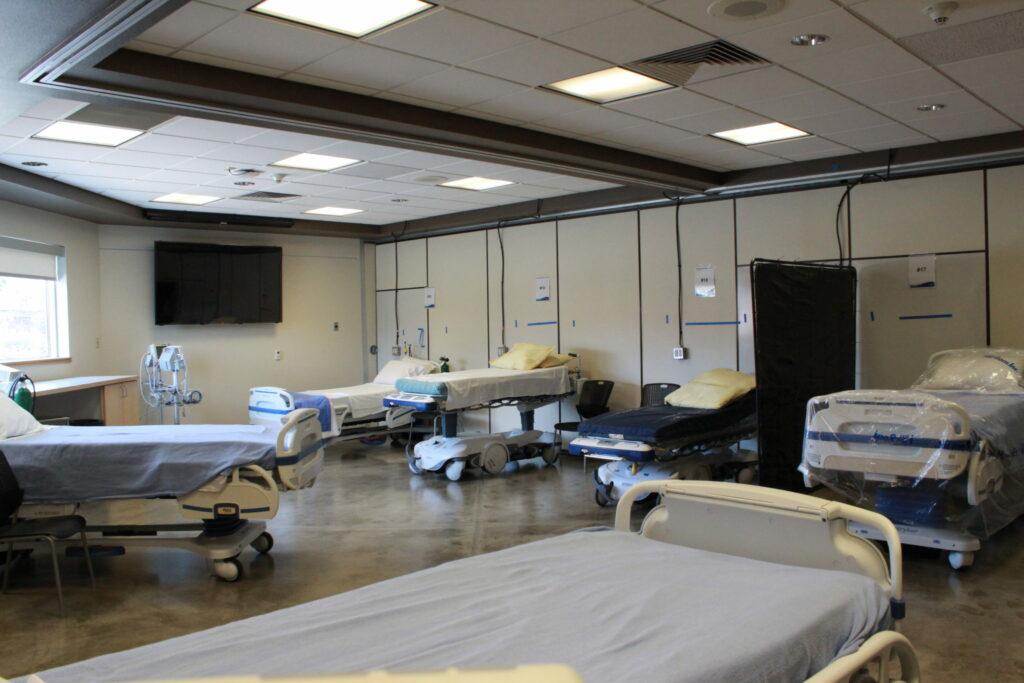 Kootenai Health classroom converted into COVID unit