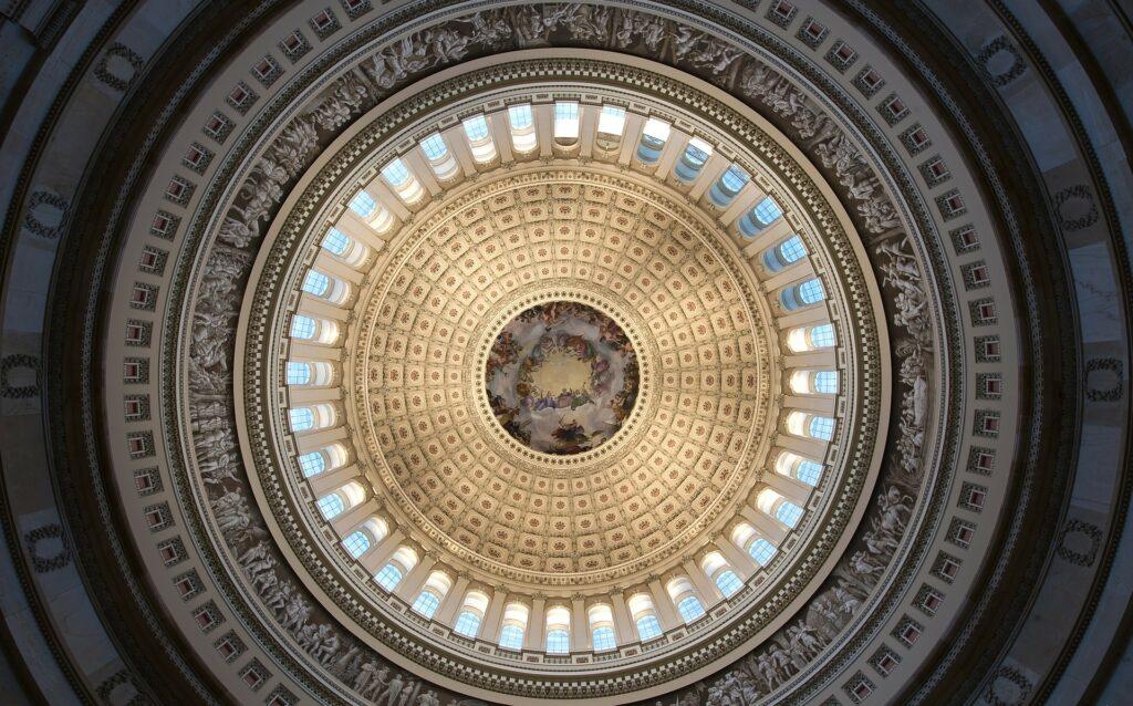 U.S. Capitol rotunda in Washington, D.C.