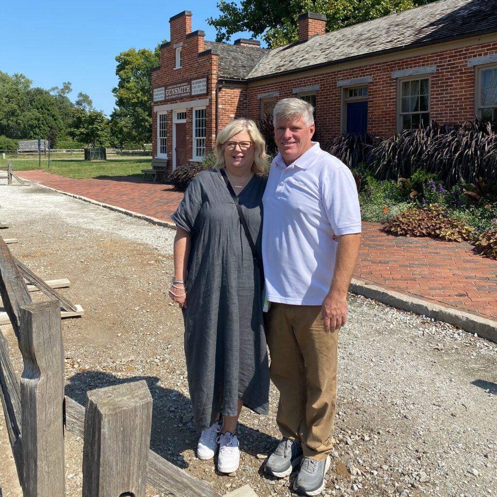 Jan Kidd and her husband, Kelly