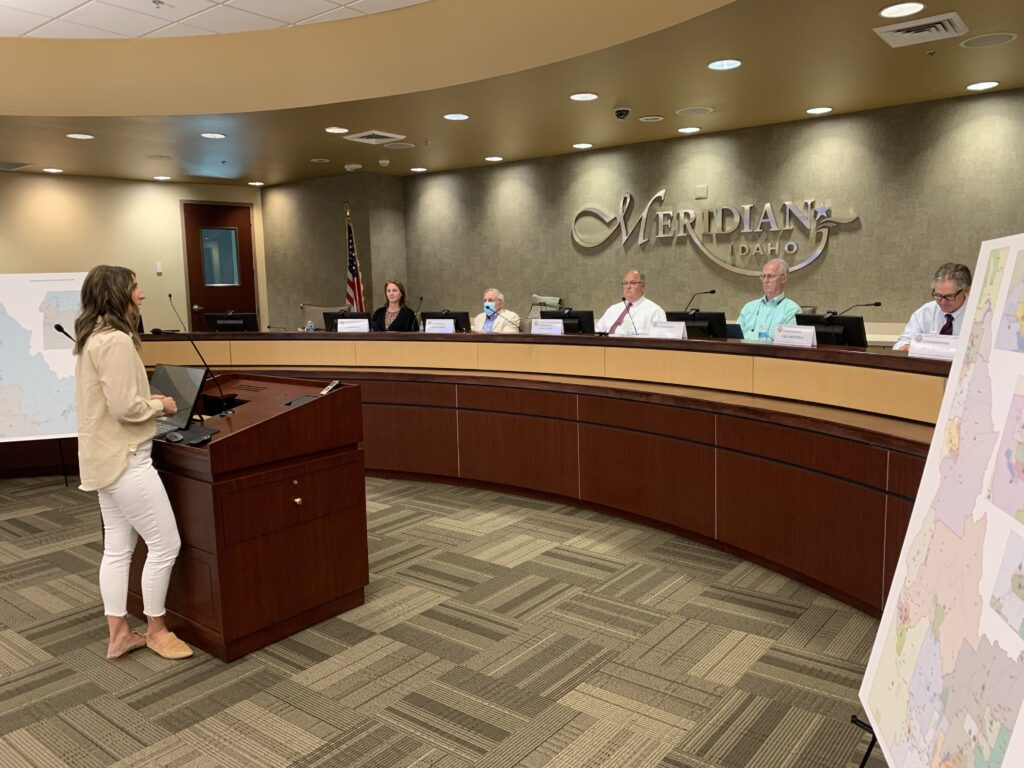 Redistricting Commission meets in Meridian City Hall