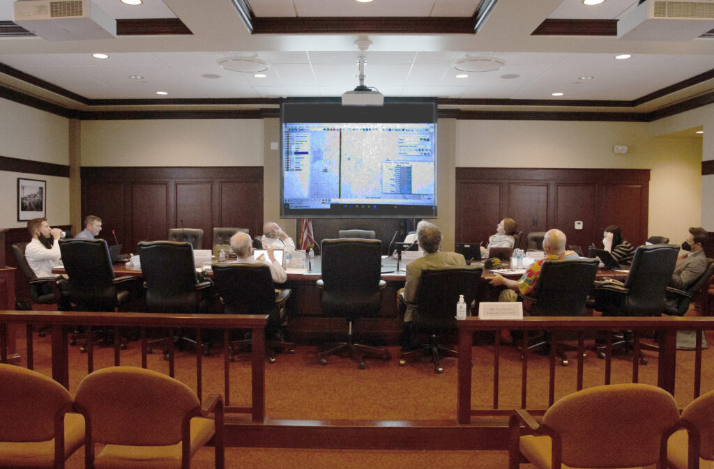 Redistricting committee meets at the Statehouse