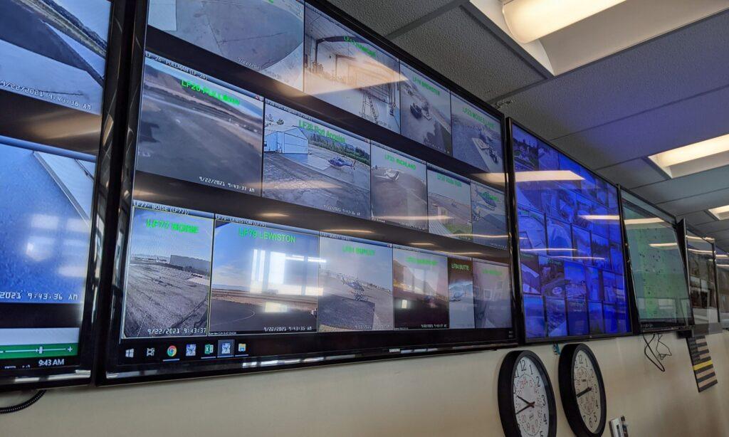 Photo of Life Flight command center at Saint Alphonsus