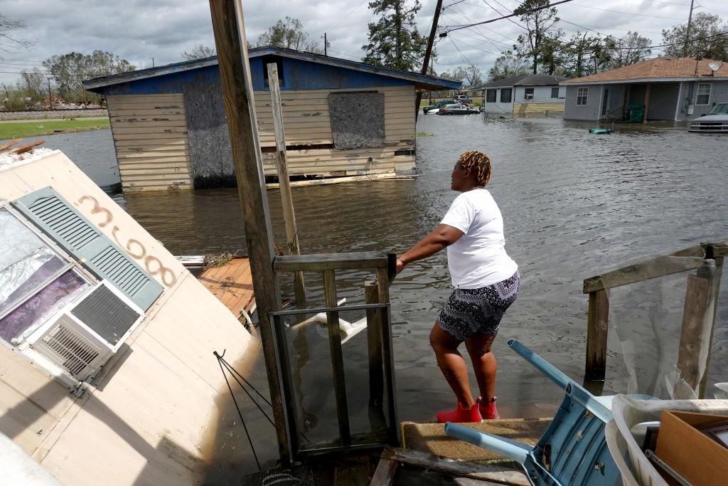 Hurricane Ida survivor