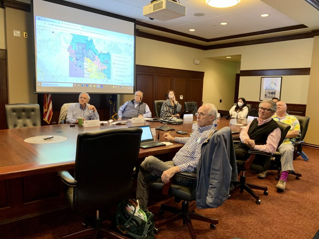 Idaho redistricting commission meets at the Capitol